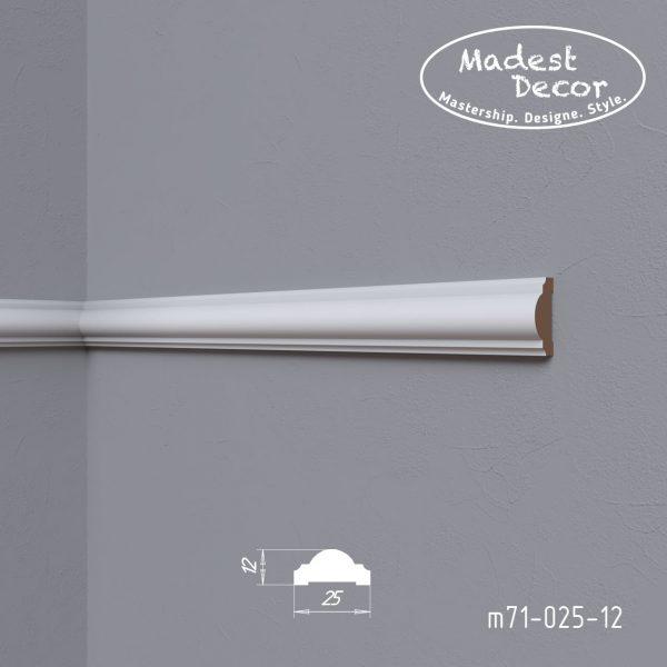 Молдинг m71-025-12 Madest Decor