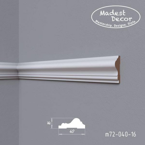 Молдинг m72-040-16 Madest Decor