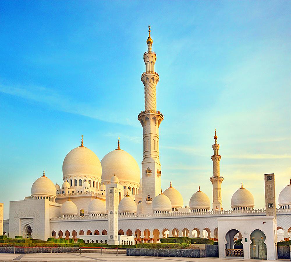 Фотообои Мечеть в Абу-Даби