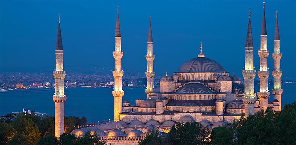 Фотообои Стамбул Голубая мечеть 300*147