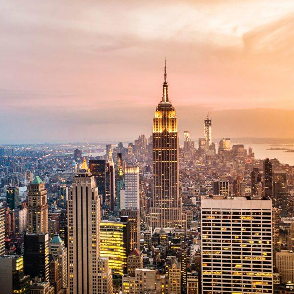 Фотообои Вид на город 2