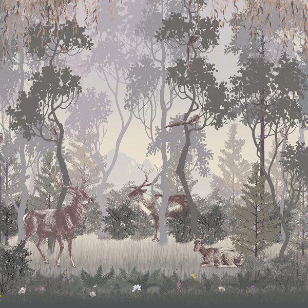 Фотообои Загадочный лес