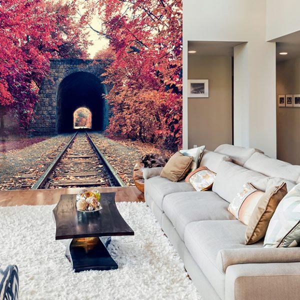 Фотообои Железная дорога