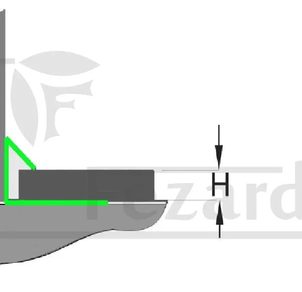 Внутренний угол ST-LV10