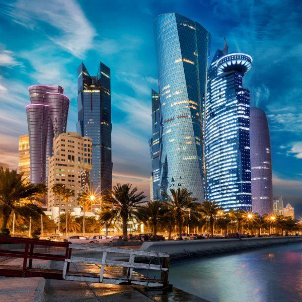 Фотообои Доха Небоскребы