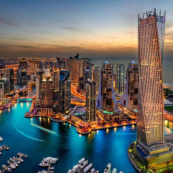 Фотообои Дубай рассвет