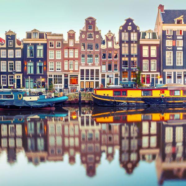 Фотообои Канал Амстердама