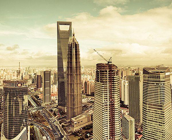 Фотообои Панорама города