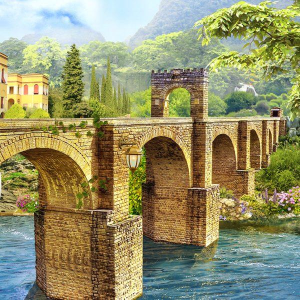 Фотообои Старинный мост