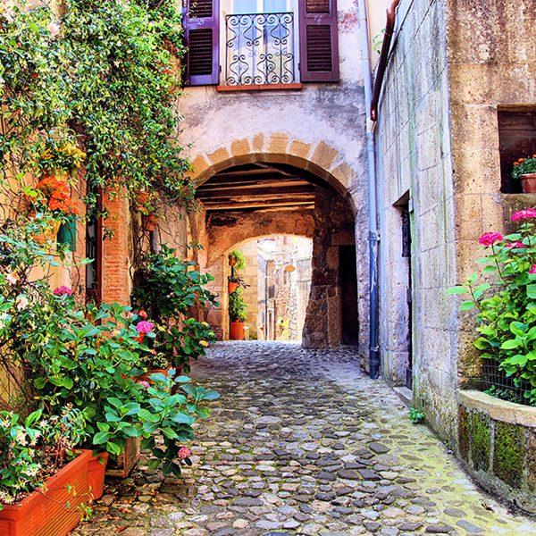 Фотообои Улочка Тосканы
