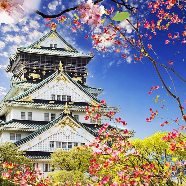 Фотообои Замок в Осаке