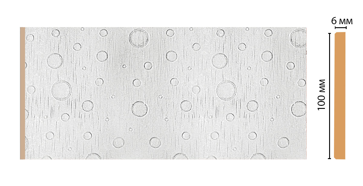 Декоративная панель DECOMASTER P10-20 (99*6*2400мм)
