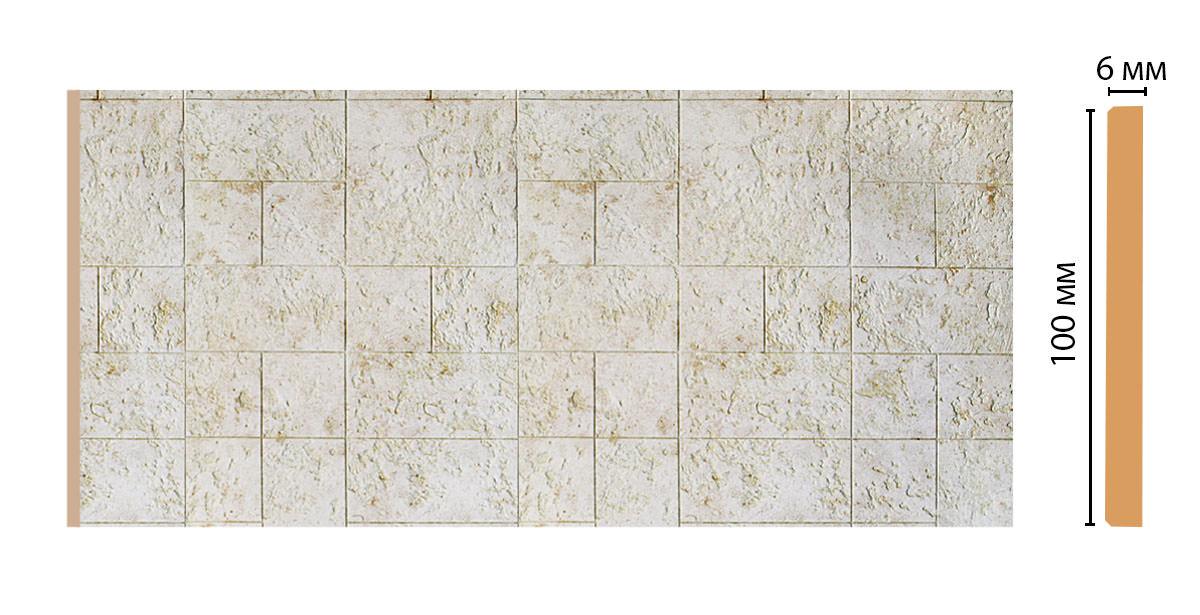 Декоративная панель DECOMASTER R10-25 (99*6*2400мм)