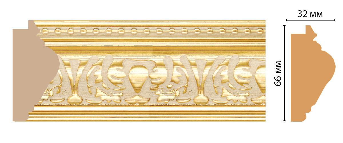 Багет DECOMASTER 690-198 (66*32*2900мм)