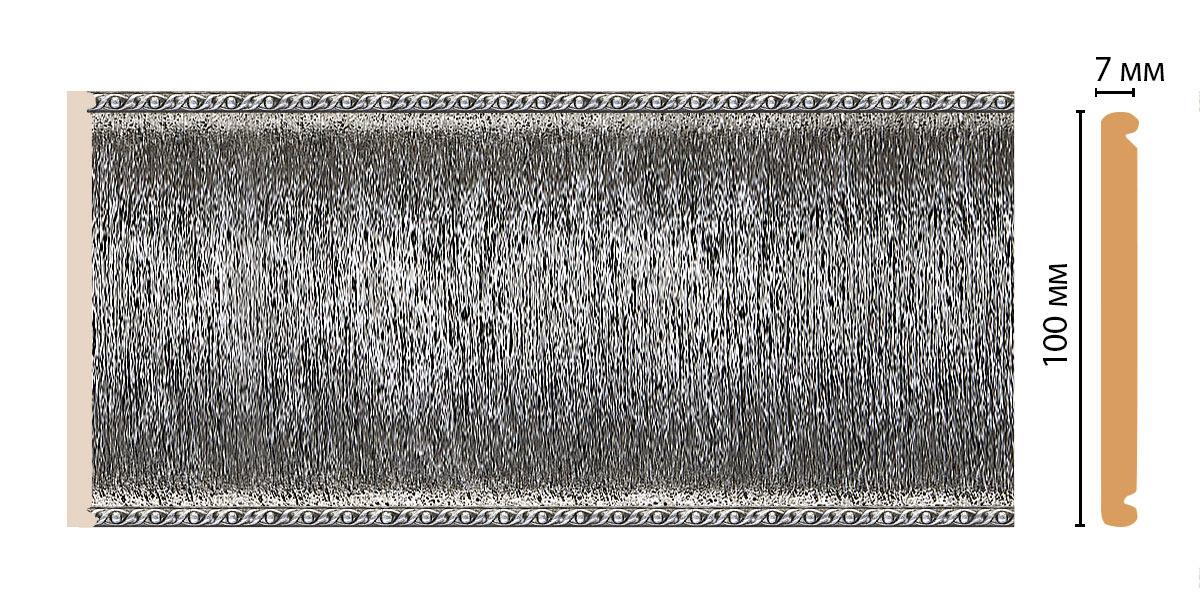 Декоративная панель DECOMASTER Q10-44 (100*7*2400мм)