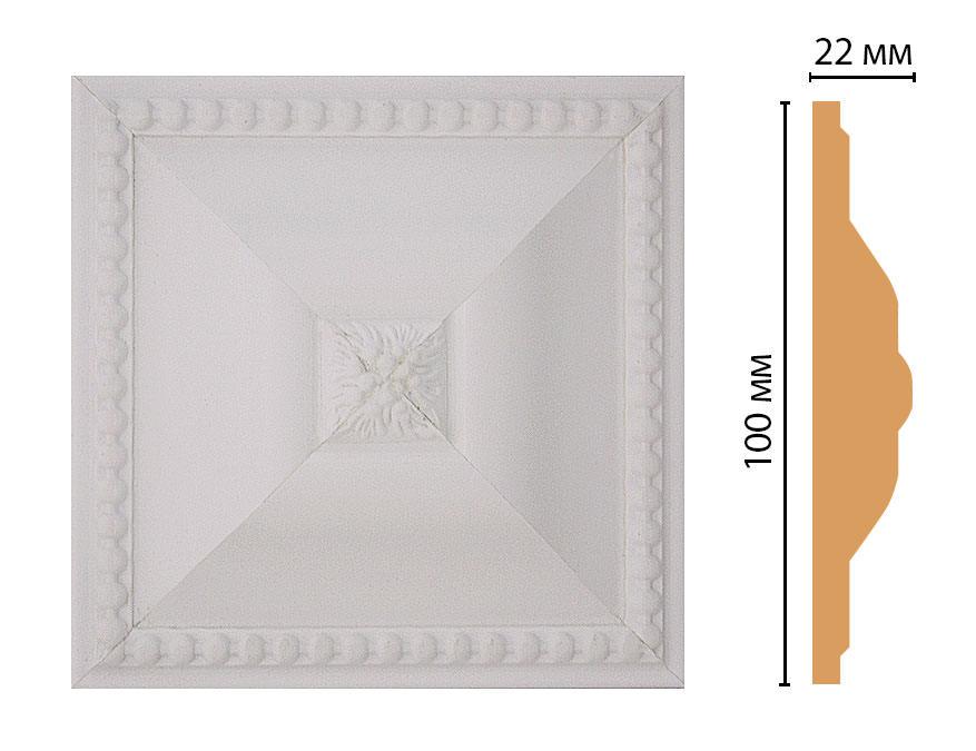 Вставка цветная DECOMASTER D209-115 (100*100*22мм)