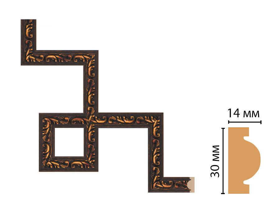 Декоративный угловой элемент DECOMASTER 157-3-966 (300*300мм)