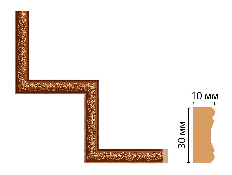 Декоративный угловой элемент DECOMASTER 165-1-767 (300*300мм)