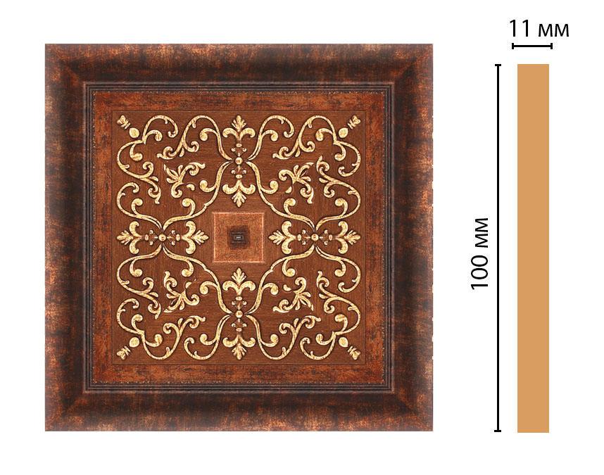 Вставка цветная DECOMASTER 164-2-767 (100*100*11мм)