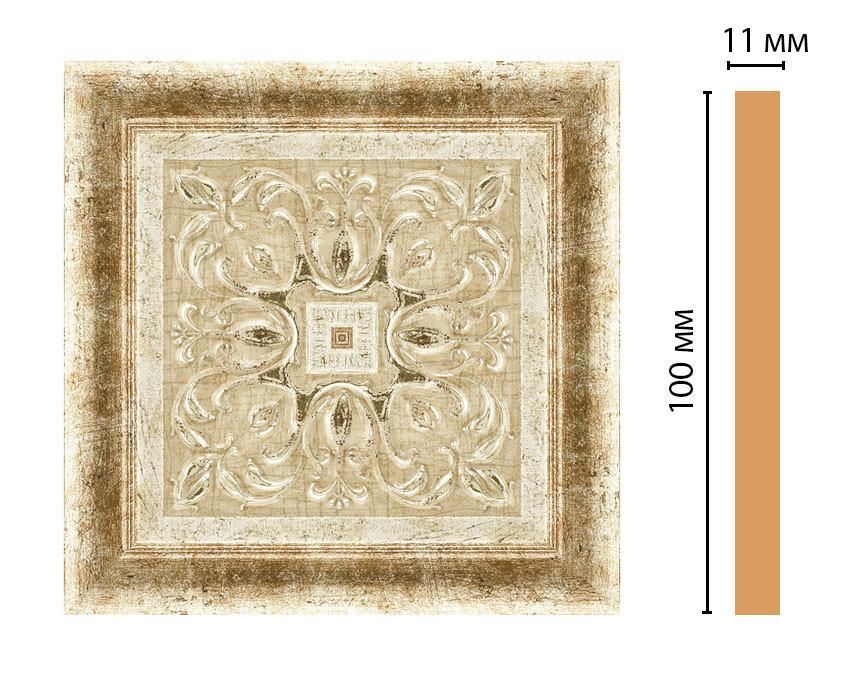 Вставка цветная DECOMASTER 164-2-127 (100*100*11мм)