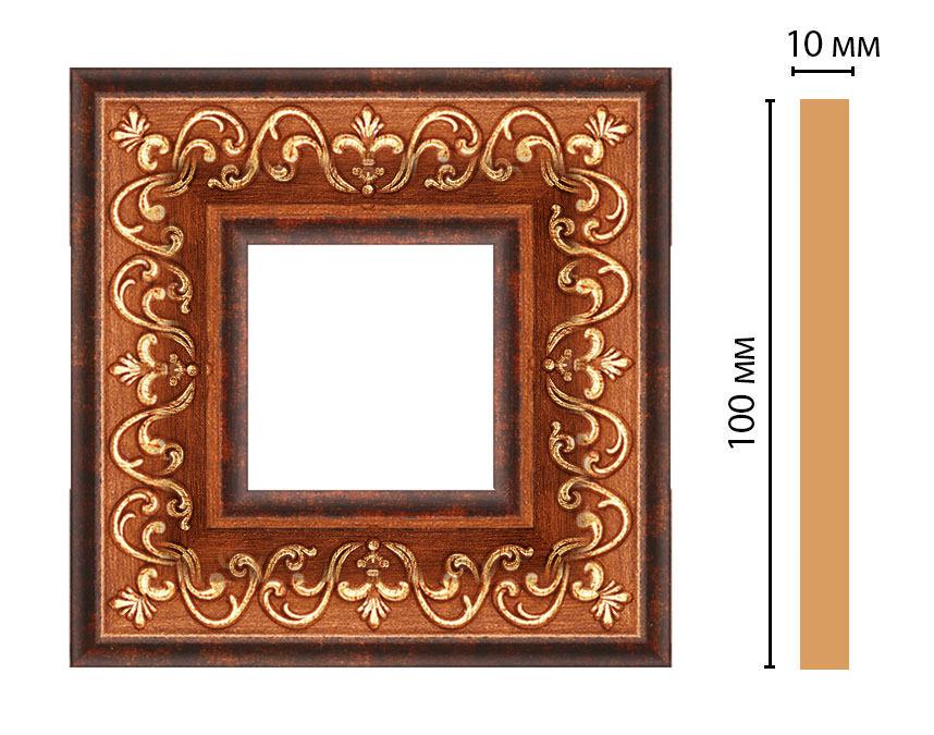 Вставка цветная DECOMASTER 165-2-767 (100*100*10мм)