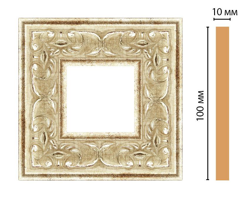 Вставка цветная DECOMASTER 165-2-127 (100*100*10мм)