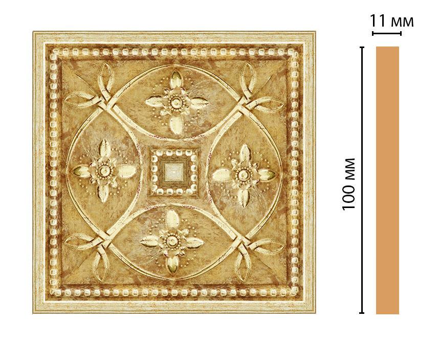 Вставка цветная DECOMASTER 156-2-933 (100*100*11мм)
