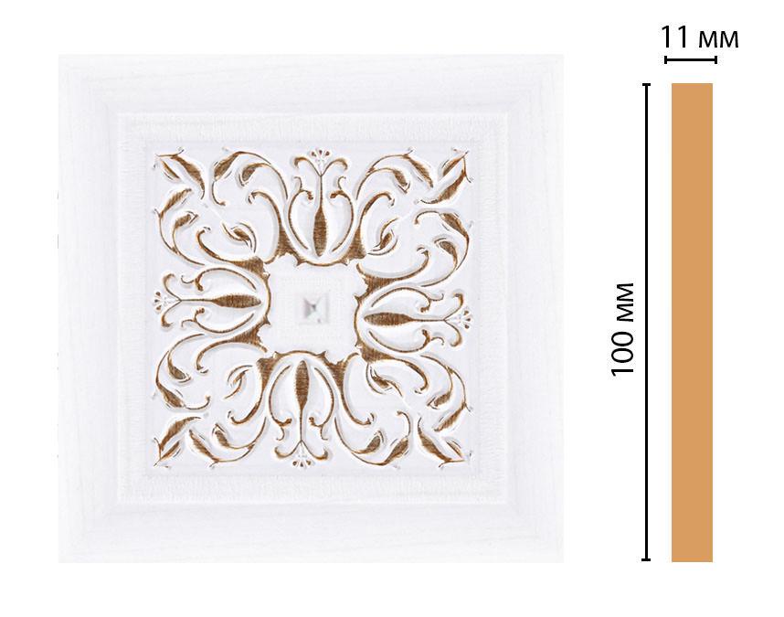 Вставка цветная DECOMASTER 164-2-118 (100*100*11мм)