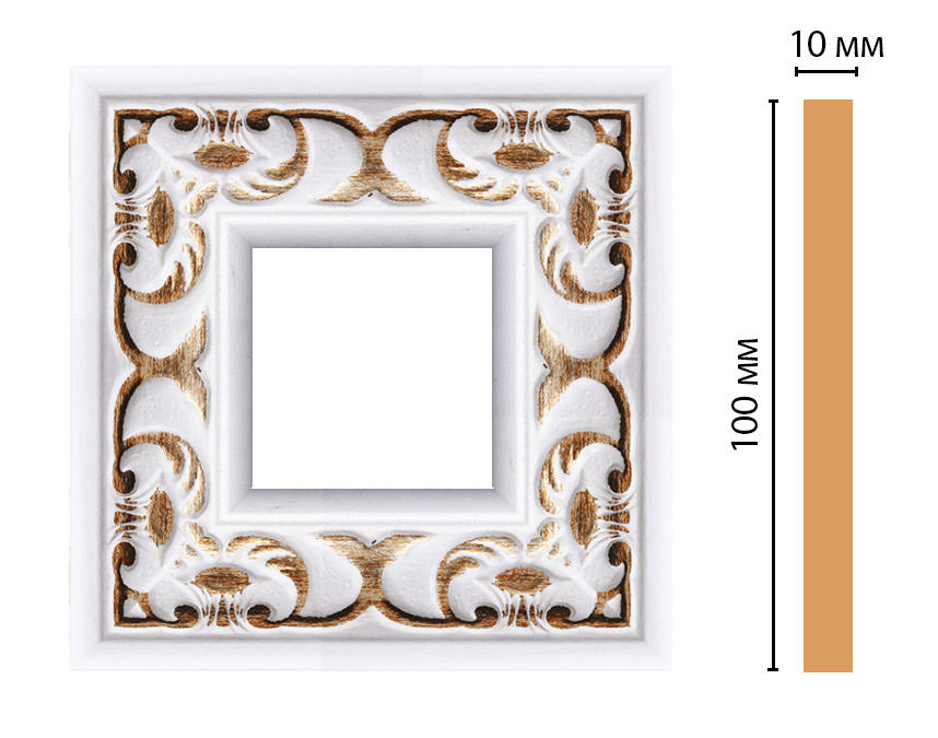 Вставка цветная DECOMASTER 165-2-118 (100*100*10мм)