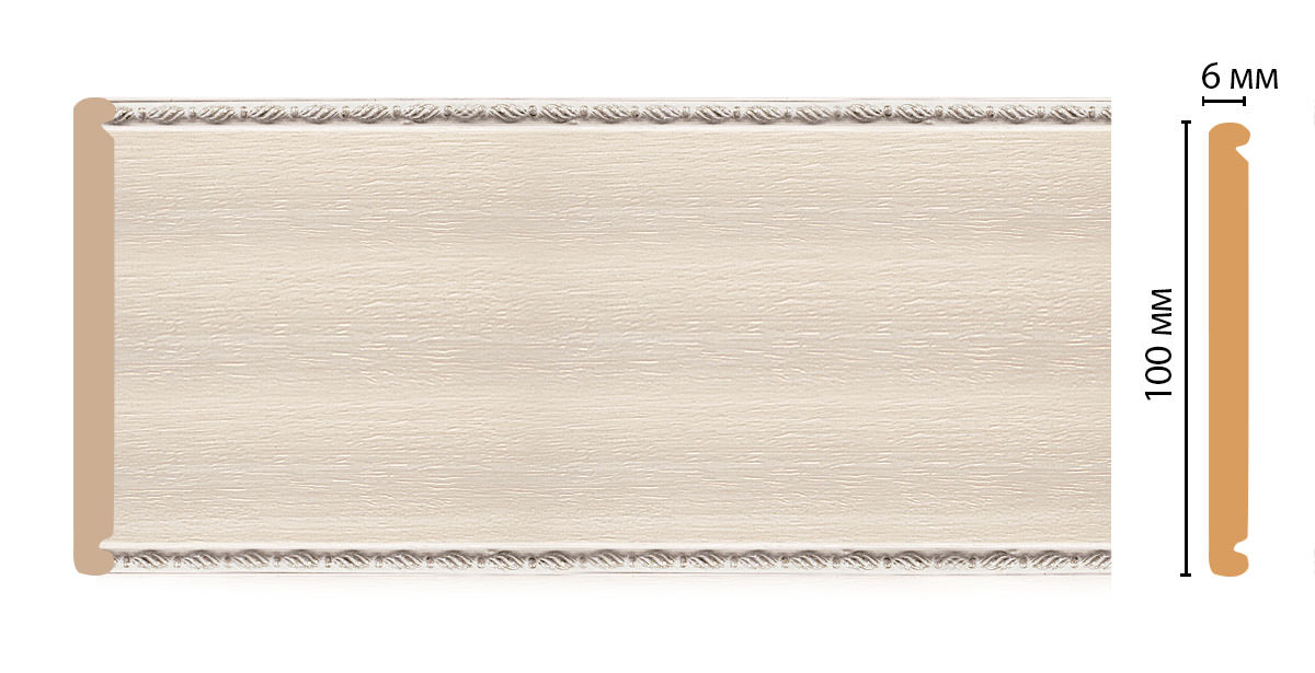 Декоративная панель DECOMASTER F10-14 (100*6*2400мм)