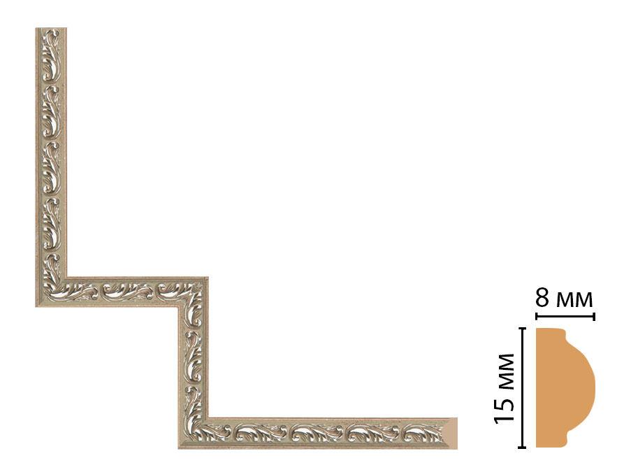 Декоративный угловой элемент DECOMASTER 130-1-59 (200*200мм)