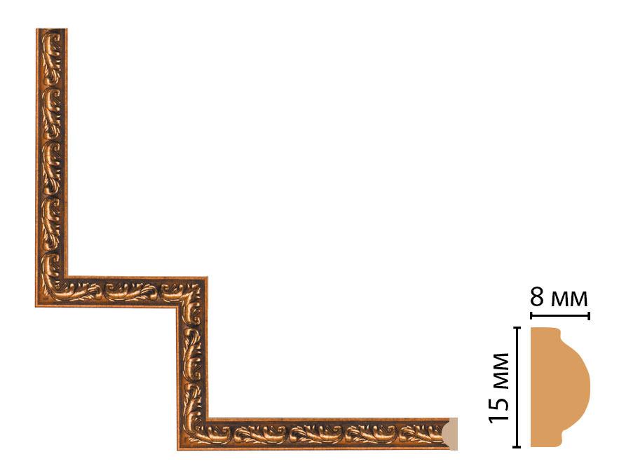 Декоративный угловой элемент DECOMASTER 130-1-1223 (200*200мм)