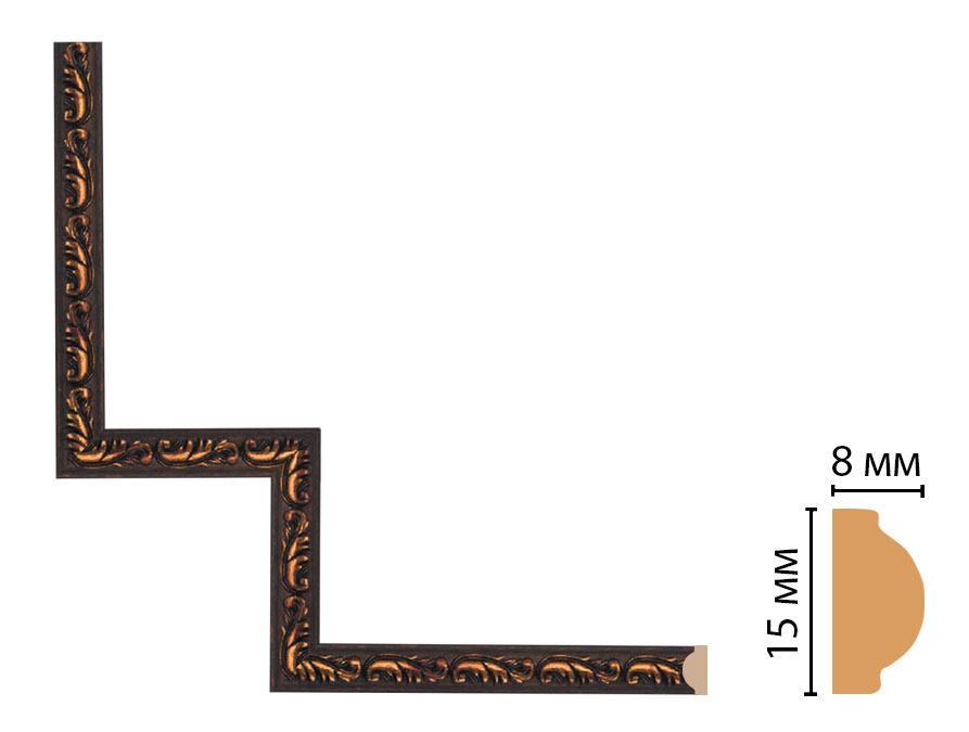 Декоративный угловой элемент DECOMASTER 130-1-966 (200*200мм)
