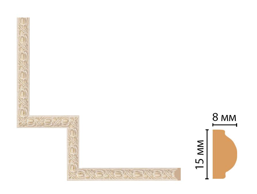 Декоративный угловой элемент DECOMASTER 130C-1-18D (200*200мм)