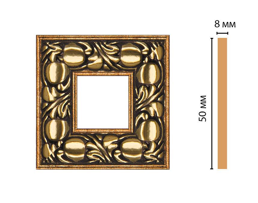 Вставка цветная DECOMASTER 130C-2-57 (50*50*8мм)