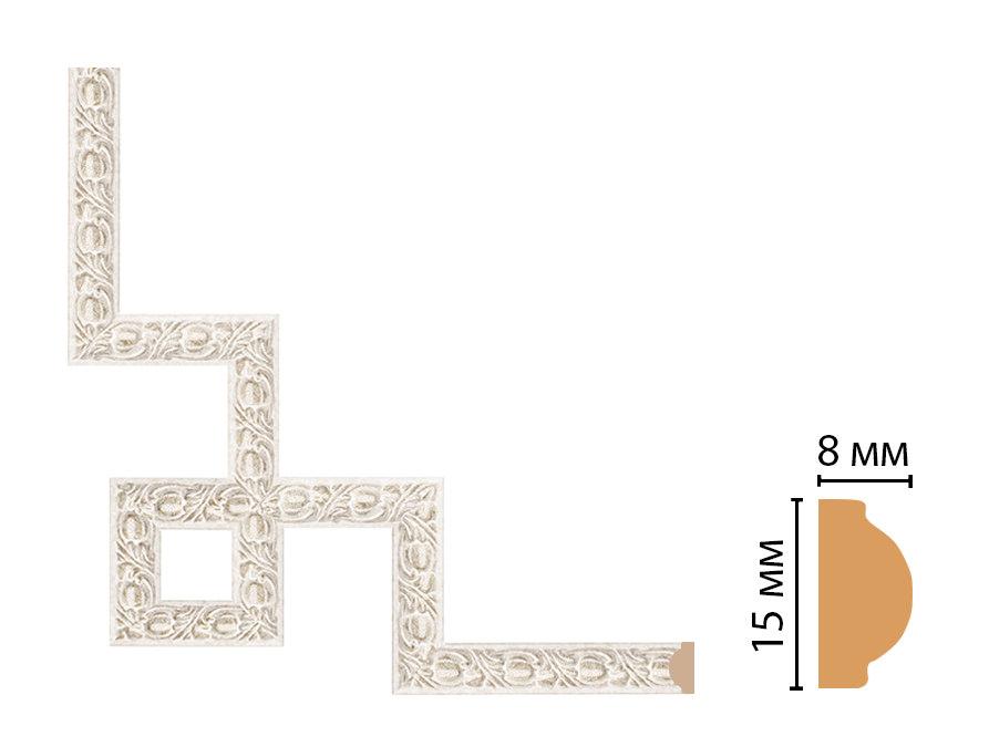 Декоративный угловой элемент DECOMASTER 130C-3-19D (200*200мм)