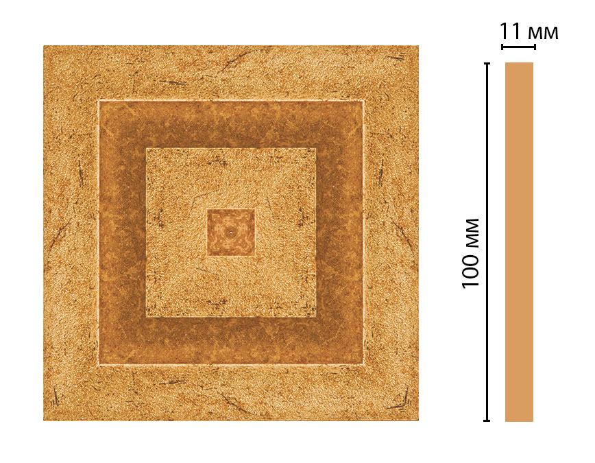 Вставка цветная DECOMASTER D205-58 (100*100*11мм)