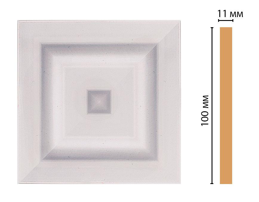 Вставка цветная DECOMASTER D205-60 (100*100*11мм)