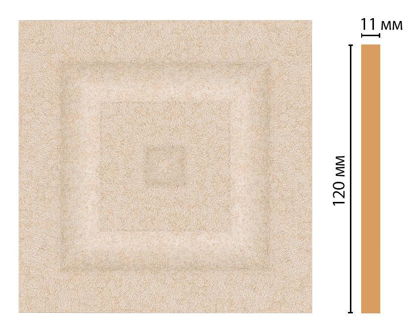 Вставка цветная DECOMASTER D206-18D (120*120*11мм)