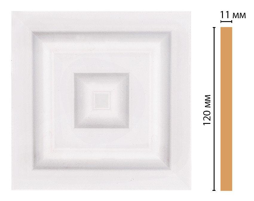Вставка цветная DECOMASTER D206-60 (120*120*11мм)