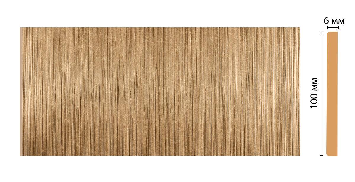 Декоративная панель DECOMASTER G10-17 (100*4*2400мм)