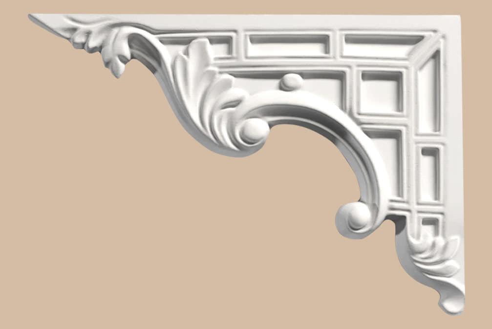 Декоративный элемент DECOMASTER 66201L (270*180*15мм)