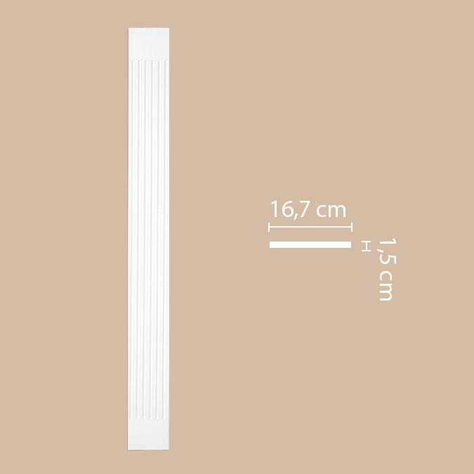Пилястра DECOMASTER DK-82220 (167*2000*15мм)
