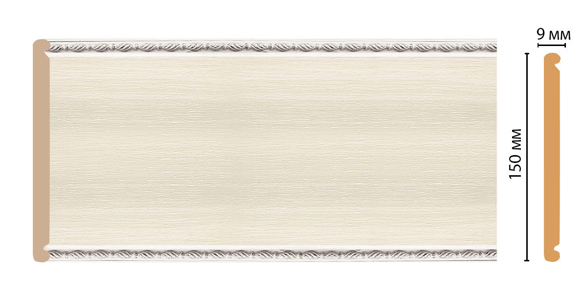 Декоративная панель DECOMASTER F15-15 (150*6*2400мм)