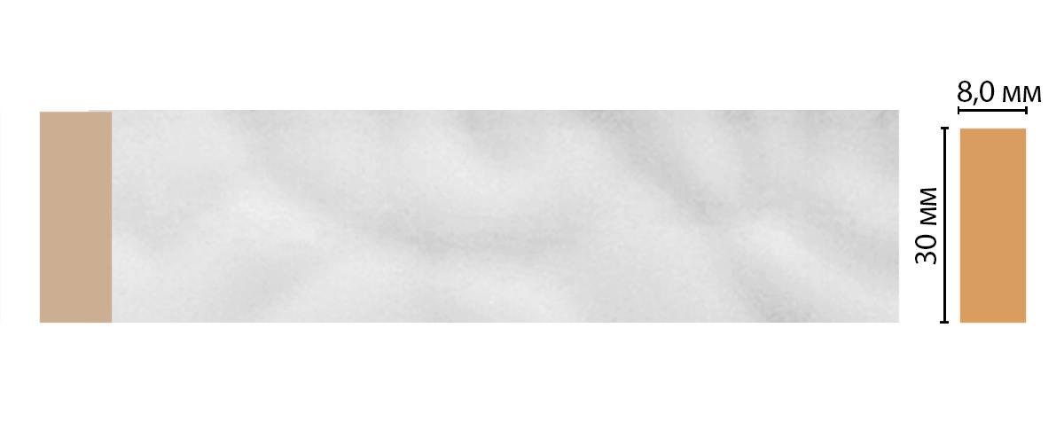 Молдинг DECOMASTER D041-114 (30*8*2400мм)