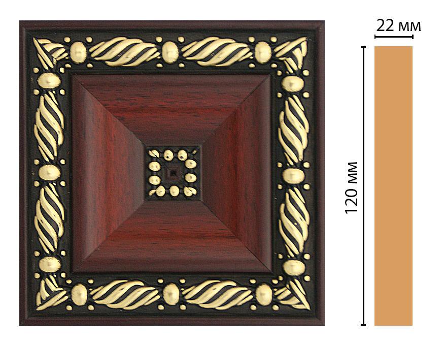 Вставка цветная DECOMASTER D208-52 (120*120*22мм)