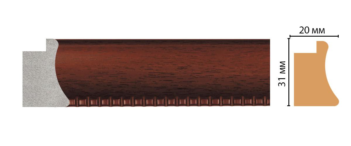 Багет DECOMASTER FM7-4 (31*20*2850мм)
