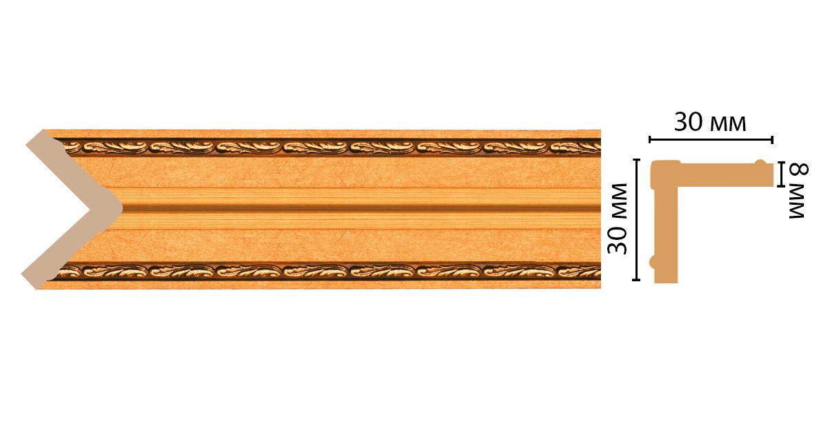 Угол DECOMASTER 116-1123ДМ (30*30*2400 мм)