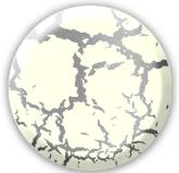 Краска «Венецианский белый» с эффектом трещин — финишное покрытие 258101