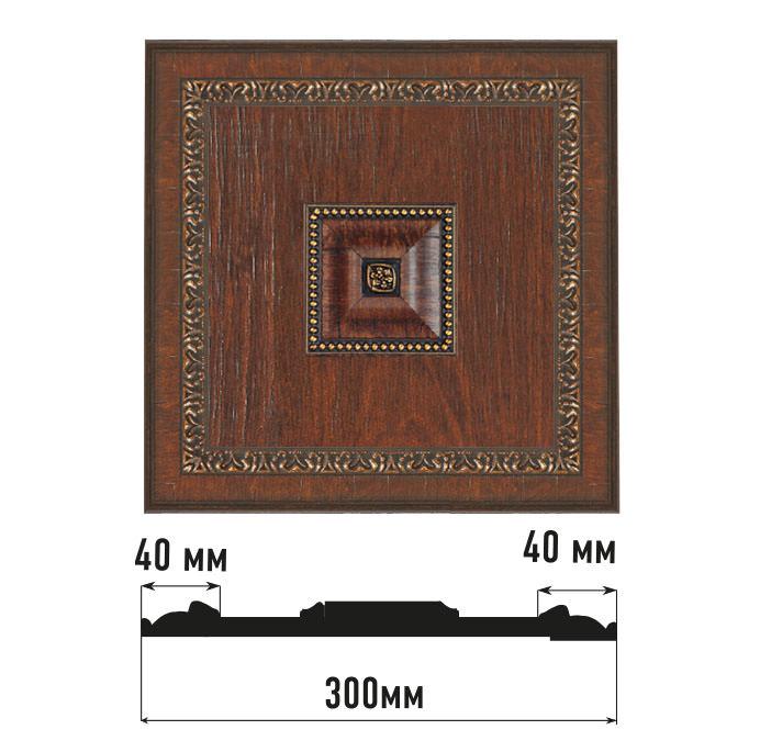 Декоративное панно DECOMASTER D31-2 (300*300*32мм)